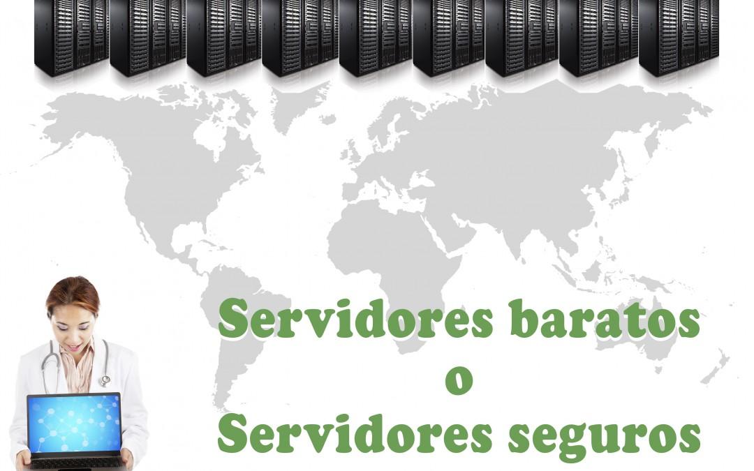 Servidores baratos o servidores seguros