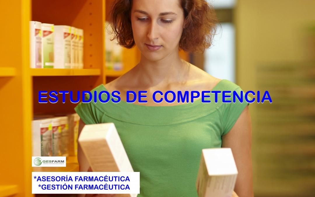 Estudio de competencia farmacéutica
