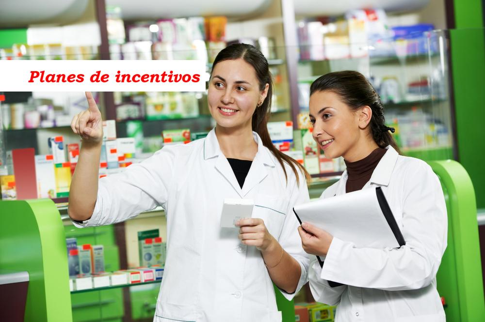 Planes de incentivos para farmacias