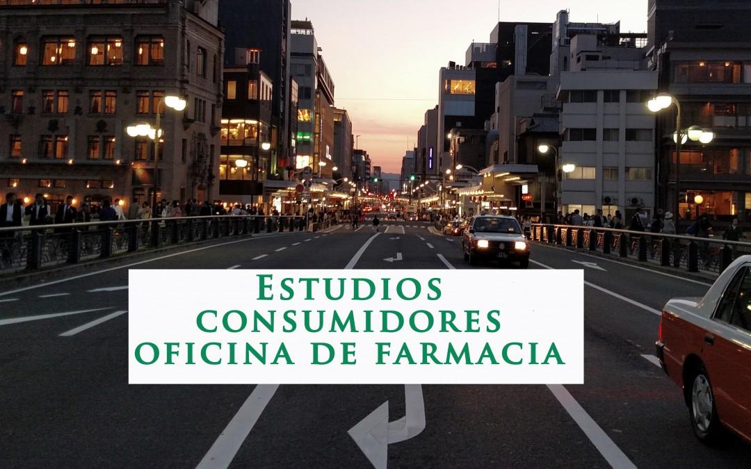 Estudios consumidores  oficina de farmacia