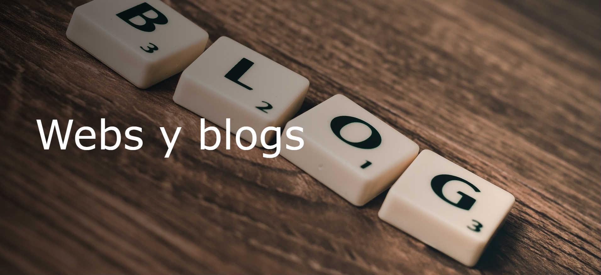 Webs y blogs